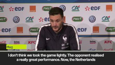 Lloris explains why France lost to Netherlands