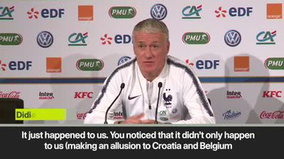 'France suffering World Cup hangover' Deschamps on defeat by Netherlands