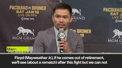 'I didn't lose to Mayweather' - Pacquiao lines up rematch after Broner bout