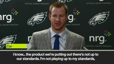 'Embarrasing' Wentz on worst-ever defeat for Super Bowl champion team