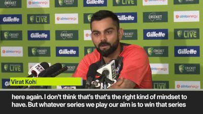 'We figured out our mistakes' Kohli confident in Oz