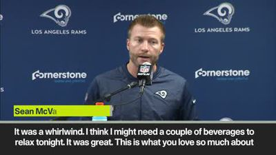 'I might need a couple of beverages' Rams coach after 54-51 classic - 3rd highest scoring NFL game