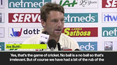 'Take no-ball decision out of their hands' Buttler on umpires