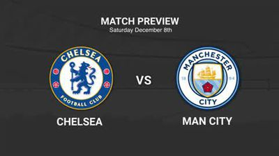 Data preview to Chelsea v Manchester City in the EPL