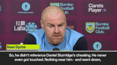 """Dyche rants at Liverpool! Says there's """"too much cheating in the Premier League"""""""