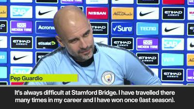 Guardiola wary of 'excellent' Chelsea