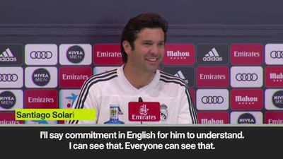 Bale has proven 'commitment' to Real Madrid says Solari