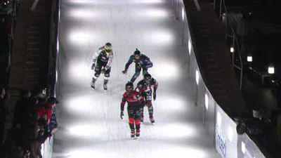 Opening Red Bull Crashed Ice event sees wins for Cameron Naasz and Amanda Trunzo