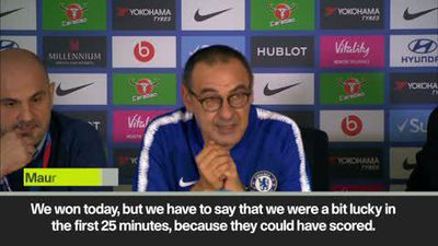 """Maurizio Sarri says Chelsea players have """"some difficulties to be motivated"""""""