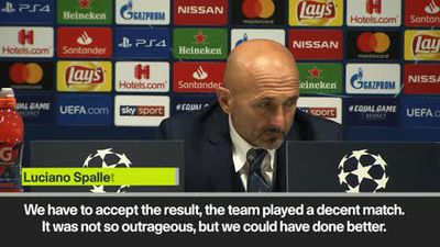 """Spalletti says Inter """"lost the shape"""" in 1-1 draw against PSV Eindhoven"""