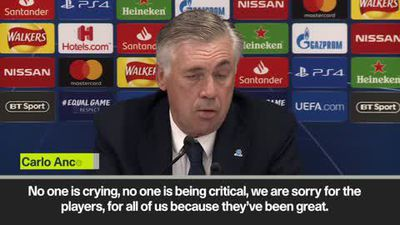 Ancelotti - no one is crying but Liverpool should have got a red