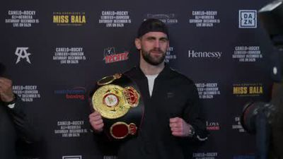 'I'm the champion' Fielding warns Canelo ahead of super-middleweight bout in NYC