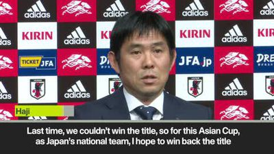 Japan coach wants to ''win back title'' as he announces 2019 Asian Cup squad