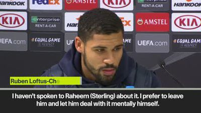 "Sterling ""right"" to speak out on racism, says Loftus-Cheek"
