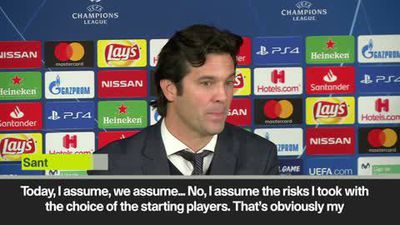 Santiago Solari blames himself for 3-0 defeat against CSKA Moscow