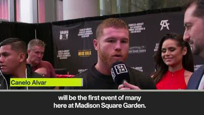Canelo relishes Rocky Fielding challenge at Madison Square Garden
