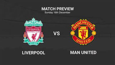Data preview to Liverpool v Manchester Utd in the EPL