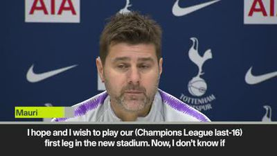 Pochettino on Tottenham's new stadium hopes ahead of Champions League knockout stage