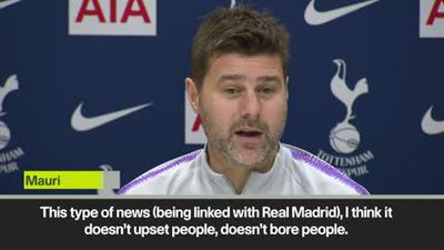 Pochettino 'not bored' of Real Madrid rumours ahead of EPL clash v Burnley
