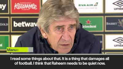 'Raheem Sterling abuse is stupid' - Pellegrini condemns abuse of Man City star