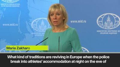 Russia claims politics behind new doping claims