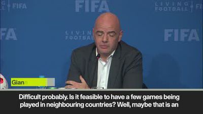 Infantino - 48 teams 'possible' at Qatar World Cup
