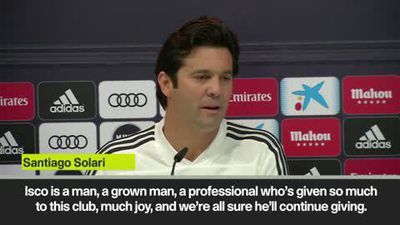 'Grown man Isco' impresses Solari despite 'crisis' rumours over playing time