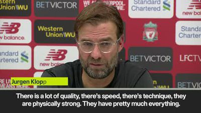 Klopp says he doesn't judge 'quality' Man United on the points they have this season