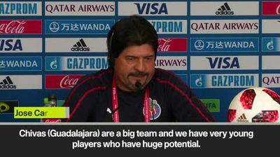Young Mexican talent is key, declares Chivas boss