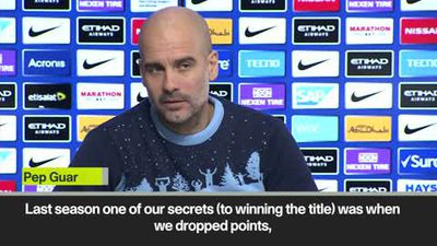 We must stay focused - Guardiola