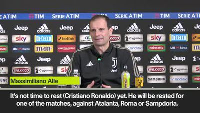 Ronaldo will be rested soon - Allegri