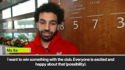 I want to win trophies - Salah