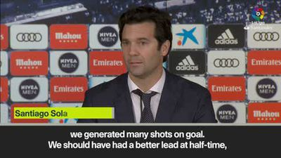Solari not worried after Real Madrid's unconvincing 1-0 Rayo win