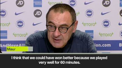 'Chelsea suffered in the last five minutes' Sarri