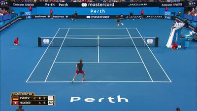 Federer & Bencic win and laugh at Hopman Cup