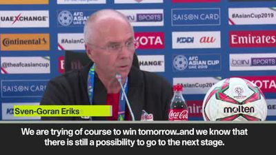 Philippines boss Eriksson says team have to fight
