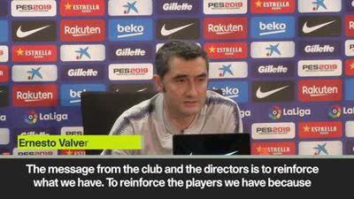 Barca's Valverde doesn't rule out January signings