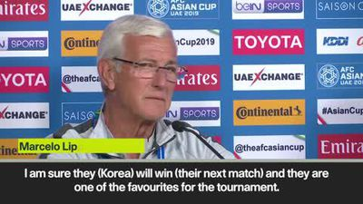 Lippi - Korea a class apart from China