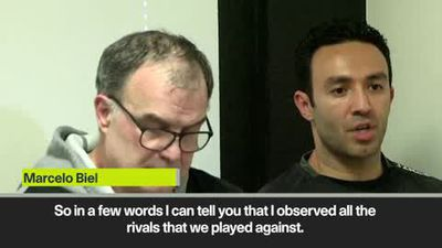 Bielsa - Leeds watched all their opponents' training sessions this season