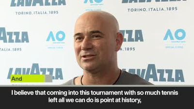 'Novak is ready to do it again at the Australian Open' Agassi