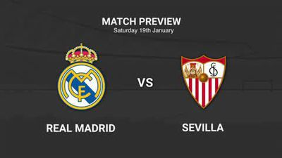 Data preview to Real Madrid v Sevilla in La Liga