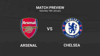 Data preview to Arsenal v Chelsea in the EPL