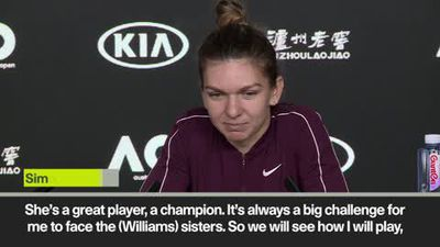 Halep confident ahead of facing Venus Williams