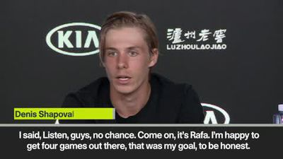 Shapovalov ready to compete with Djokovic