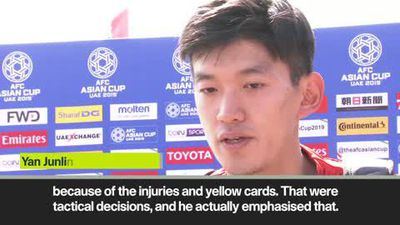 'Lippi told us not to lose confidence' China goalkeeper Yan Junling looks ahead to Thailand match