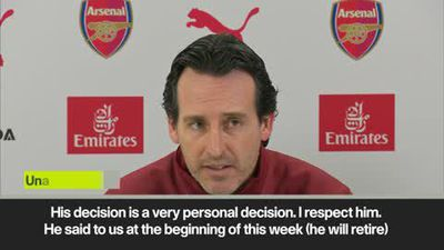 Emery was 'surprised' by Cech's decision to retire