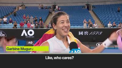 'Who cares? Why watch us at 3.15am?' - Muguruza amusing reaction to win over Konta