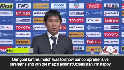 Japan head coach Moriyasu hails 'very tough' win over Uzbekistan