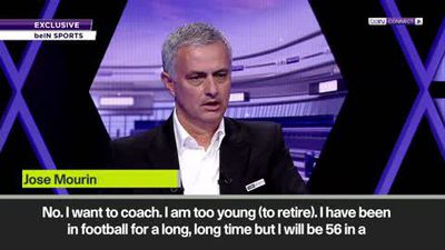 'I belong to top level football' - Mourinho says he is too young to retire