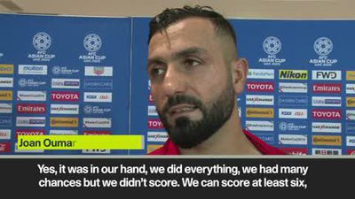 'It's very sad for all of Lebanon' - defender Joan Oumari reacts to Asian Cup exit